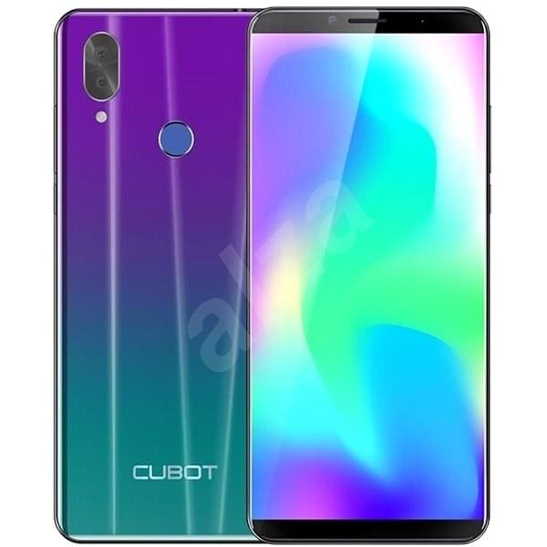 Cubot X19, lila gradiens - Mobiltelefon