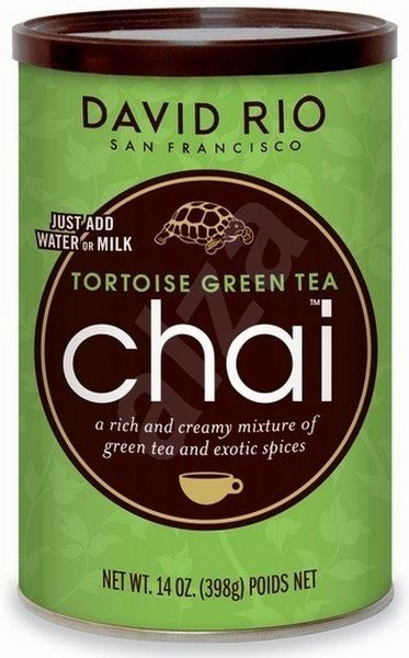 David Rio Chai Tortoise Green Tea 398g - Ízesítő keverék