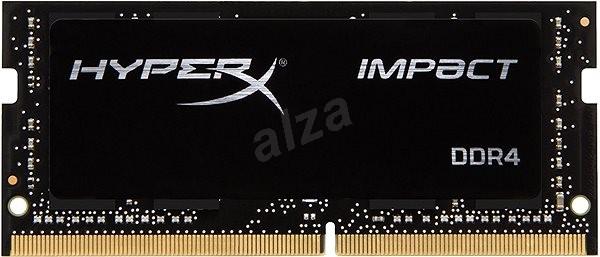 HyperX SO-DIMM 8 GB-os DDR4 2400 MHz-es Impact CL14 fekete sorozat - Rendszermemória