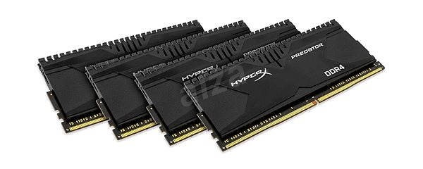 Kingston 16 GB KIT DDR4 2666MHz HyperX Predator Series CL13  - System Memory