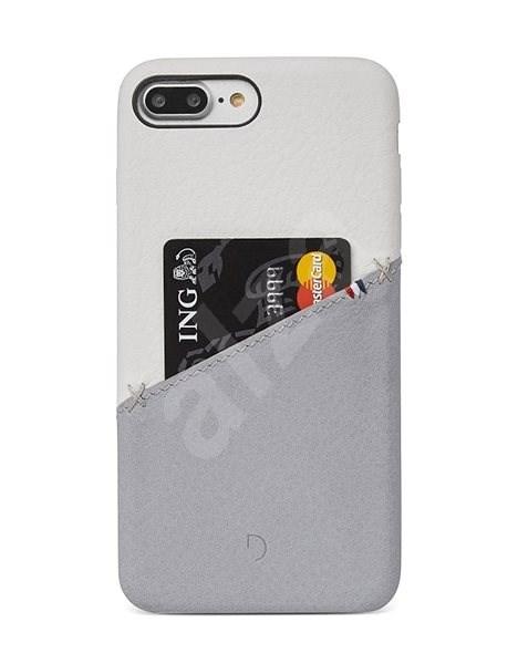 Decoded Leather Back Cover iPhone 8 Plus 7 Plus 6s Plus fehér-szürke ... e6ad14ba47