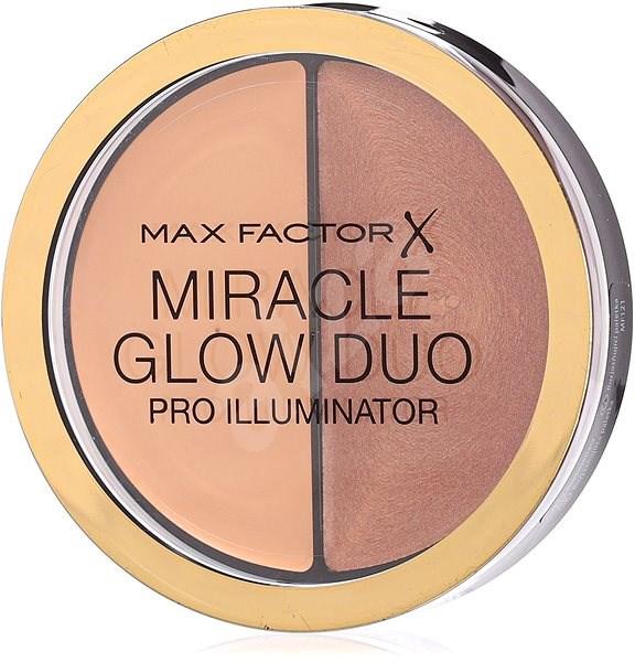 MAX FACTOR Miracle Glow Duo Pro Illuminator 20 Medium 11 g - Púder