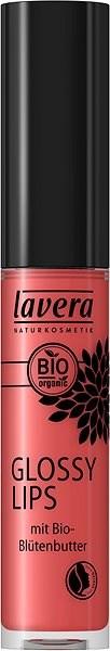 LAVERA Glossy Lips Delicious Peach 09 6,5 ml - Szájfény