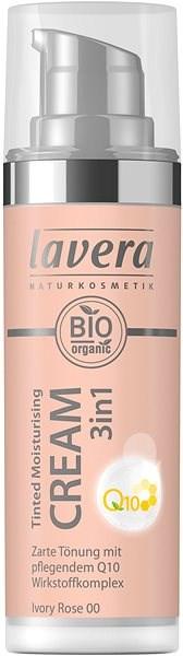LAVERA Tinted Moisturising Cream 3in1 Q10 Ivory 00 30 ml - Alapozó