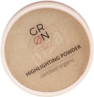GRoN BIO Highlighting Powder Golden Amber 9 gramm - Púder