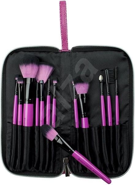 ROYAL & LANGNICKEL Pink Essentials™ Synthetic Travel Kit 13 db - Smink ecset készlet