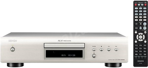 DENON DCD-600NE Silver Premium - CD lejátszó