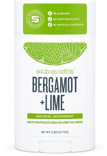 SCHMIDT'S Signature bergamott + lime 58 ml - Női dezodor