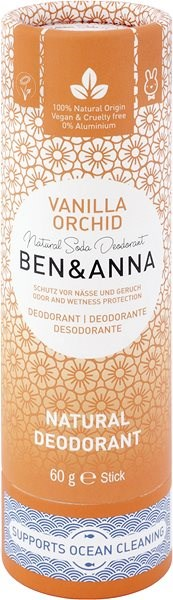 BEN&ANNA Deo Vanília Orchidea 60 g - Dezodor