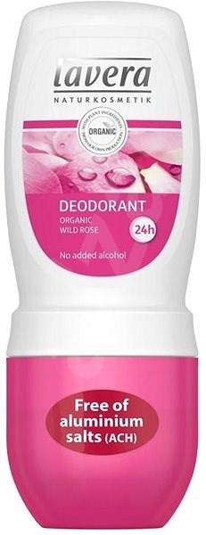 LAVERA Gentle Deodorant Roll-On Organic Wild Rose 50 ml - Női dezodor