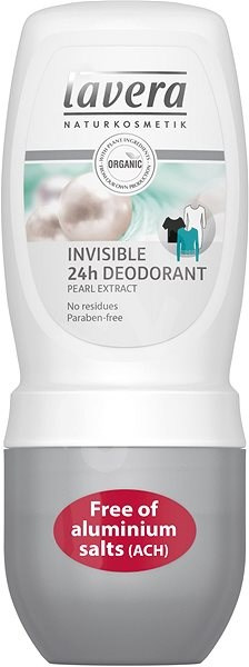 LAVERA Deodorant Roll-On Invisible 50 ml - Női dezodor