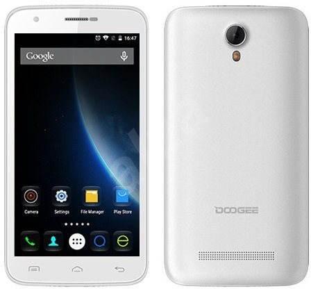 Doogee Y100 Plus White - Mobiltelefon
