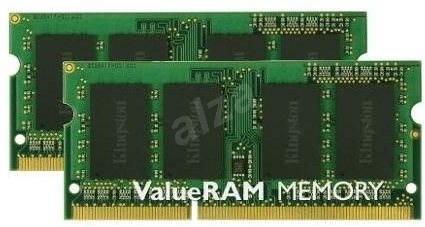 Kingston SO-DIMM 16GB KIT DDR3 1333MHz CL9  Single Rank - Rendszermemória