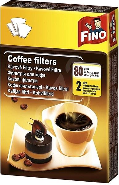 FINO kávéfilter, 2/80 db - Kávészűrő