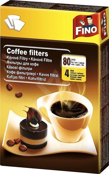 FINO kávéfilter, 4/80 db - Kávészűrő