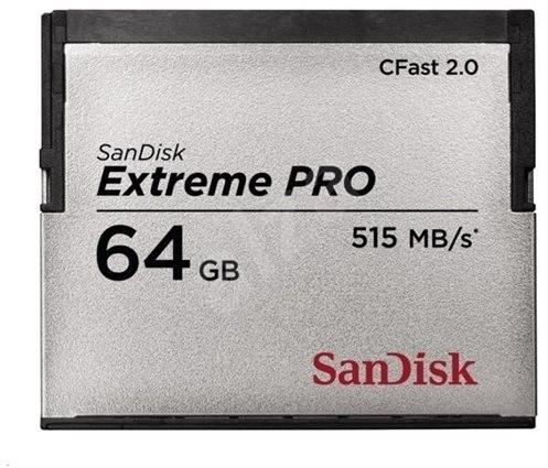 SanDisk CFast 2.0 64 GB Extreme Pro VPG130 - Memóriakártya