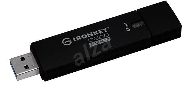 Kingston IronKey D300 8GB Managed - Pendrive