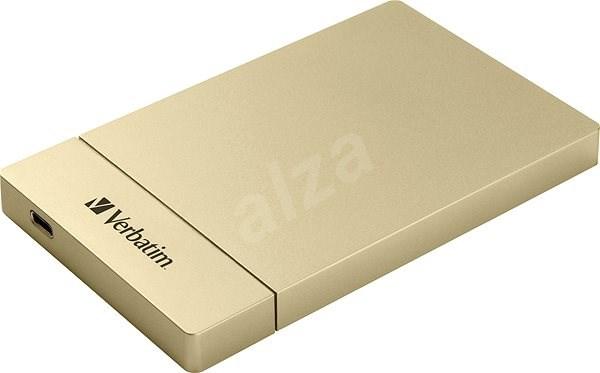 """VERBATIM külső merevlemez ház 2,5"""" HDD SATA számára, USB-C / USB 3.1 Gen2 GOLD - Külső merevlemez ház"""