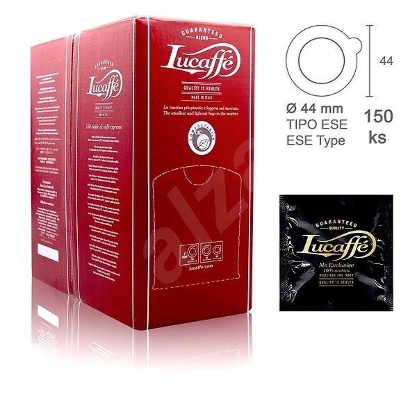 Lucaffe 100% Arabica, E.S.E kávépárna, 150db - E.S.E. pod
