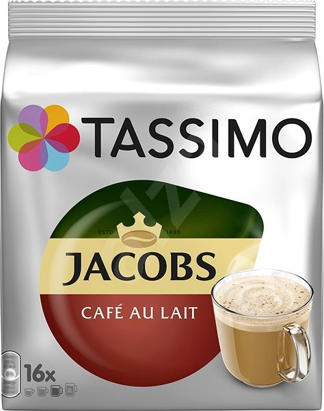 TASSIMO Jacobs Cafe Au Lait 16 adag - Kávékapszulák