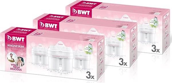 BWT Longlife Mg2+ vízszűrő betét, 9db - Szűrőpatron