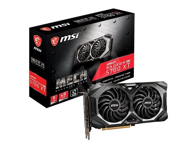 MSI Radeon RX 5700 XT MECH OC - Videokártya