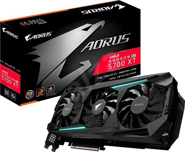 GIGABYTE Radeon RX 5700 XT AORUS 8G - Videokártya