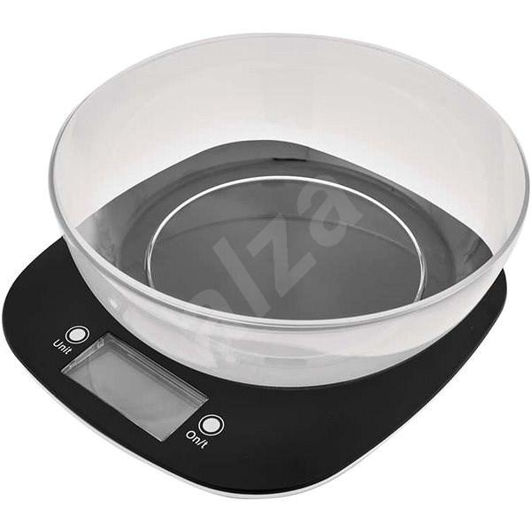 EMOS EV025 digitális konyhai mérleg fekete - Konyhai mérleg