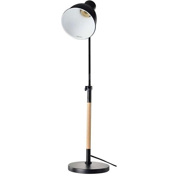 EMOS WINSTON asztali lámpa, fekete - Asztali lámpa