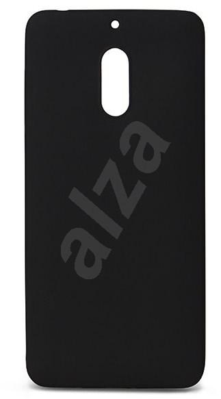Epico Silk Matt Nokia 6-hoz - fekete - Tok  9bacde43be