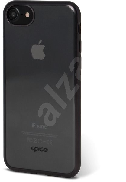 Epico Matt Bright iPhone 6 7 8 - fekete - Szilikon tok  a166e1101b