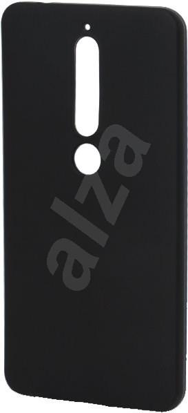 Epico Silk Matt Nokia 6.1 készülékhez, fekete - Mobiltelefon hátlap
