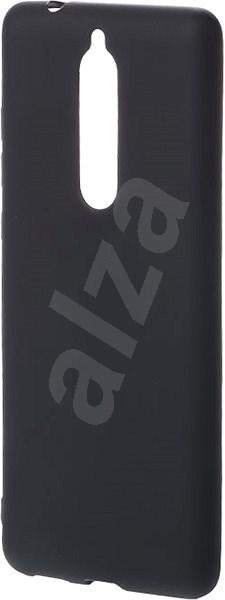 Epico Silk Matt tok Nokia 5.1 készülékhez fekete - Mobiltartó  7c2d1a82ed