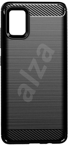 EPICO CARBON Samsung Galaxy A51 - fekete - Mobiltelefon hátlap