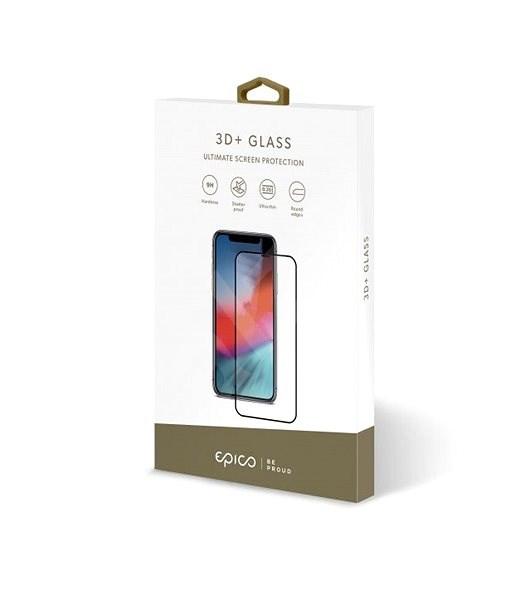EPICO 3D+ GLASS Samsung Galaxy S20 Ultra - fekete színű - Képernyővédő
