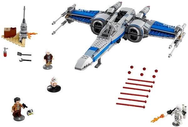 LEGO Star Wars 75149 Az Ellenállás X-Szárnyú vadászgépe - Építőjáték