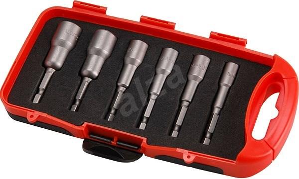 EXTOL PREMIUM 6 részes dugókulcs készlet fúrógéphez, CrV - Villáskulcs