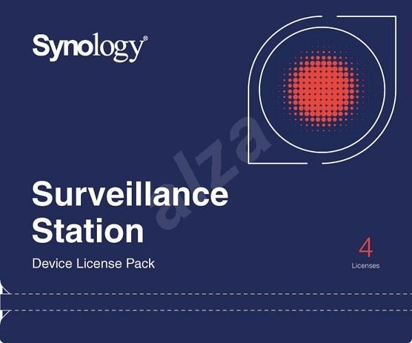Synology NAS 4 Surveillance Station szoftverlicenc további IP kamerához - Szoftver