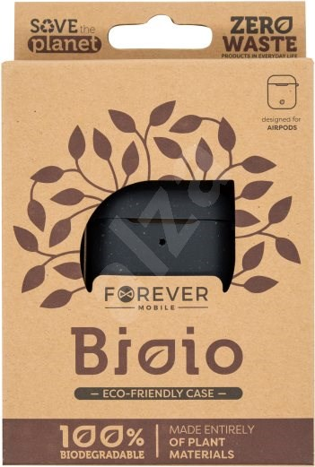 Forever Bioio for AirPods fekete - Tok