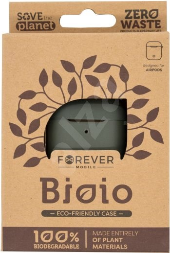 Forever Bioio for AirPods zöld - Tok