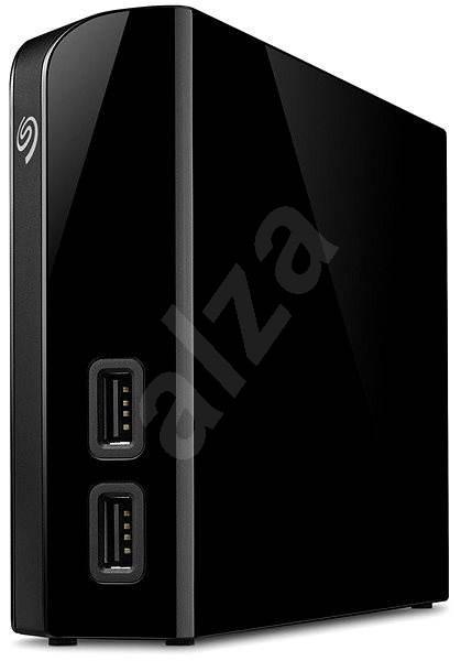 Seagate BackUp Plus Hub 6 TB + 2x USB, fekete - Külső meghajtó