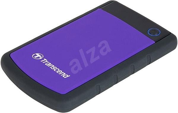 Transcend StoreJet 25H3B SLIM 1TB fekete / lila - Külső merevlemez