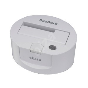 AKASA AK-IC008-WHEU DuoDock - External Docking Station