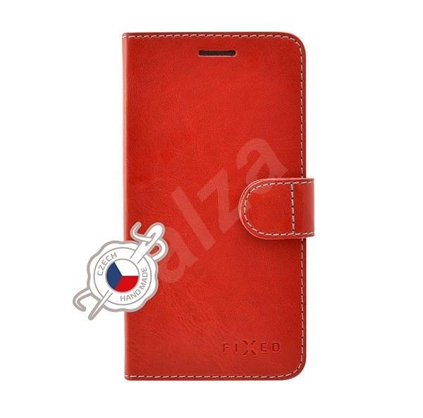 FIXED FIT tok Huawei P30 Lite készülékhez, piros - Mobiltelefon tok