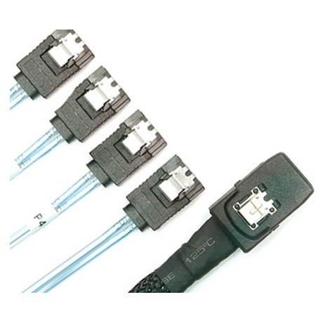 3WARE OEM Mini SAS -> 4x SATA 50 cm - Data cable