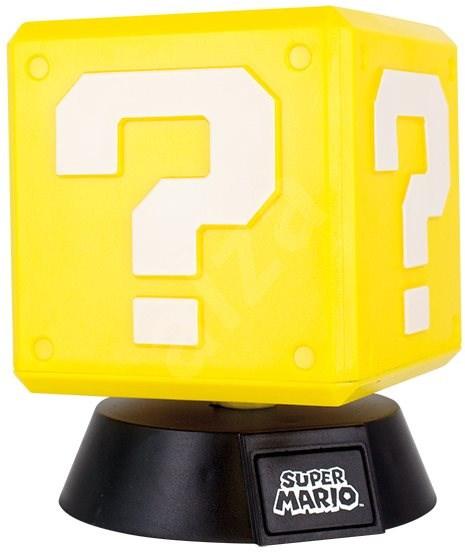 NINTENDO - 3D Lamp Super Mario Question Block - Világítás