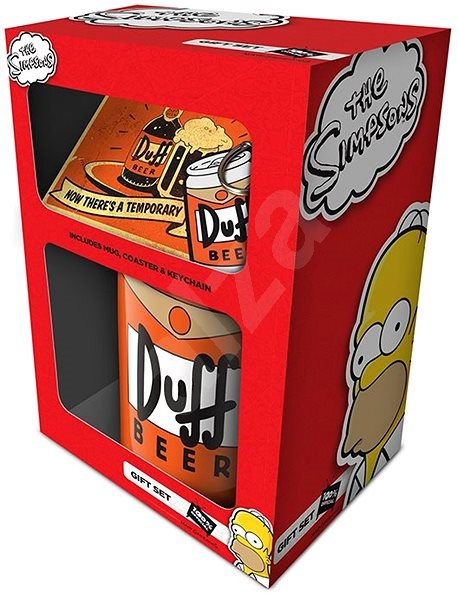 The Simpsons - Duff Beer - ajándékcsomag - Ajándékcsomag