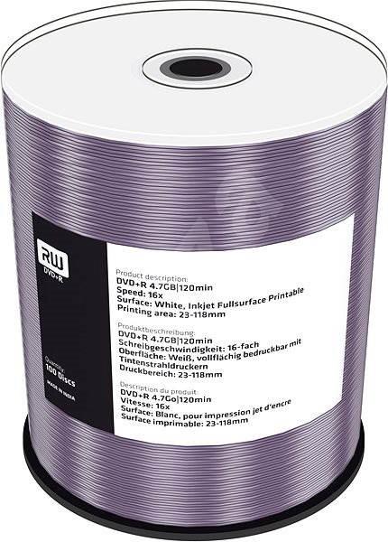 MediaRange DVD+R nyomtatható 100db-os cakebox - Média