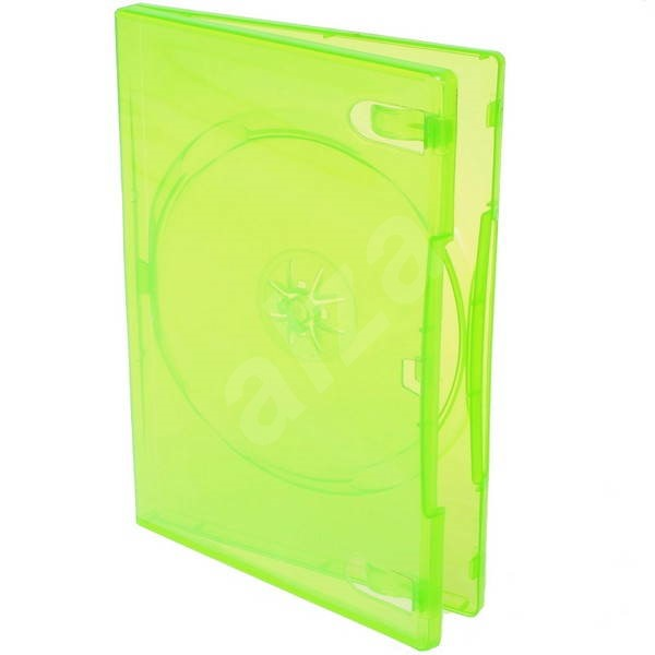 Xbox krabička na 1ks - zelená (green), 14mm -