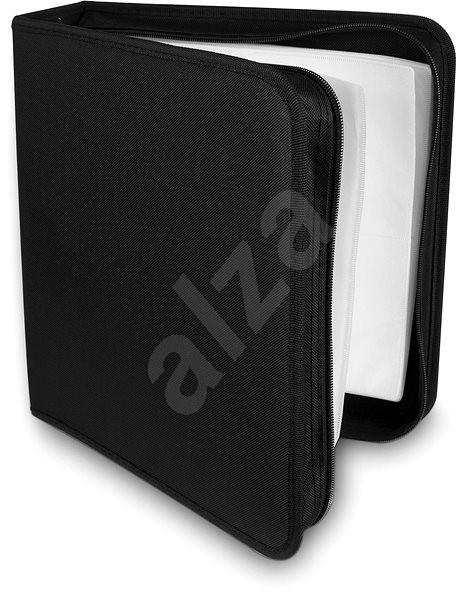 COVER IT 200 darabos - nejlon - fekete - CD/DVD tok